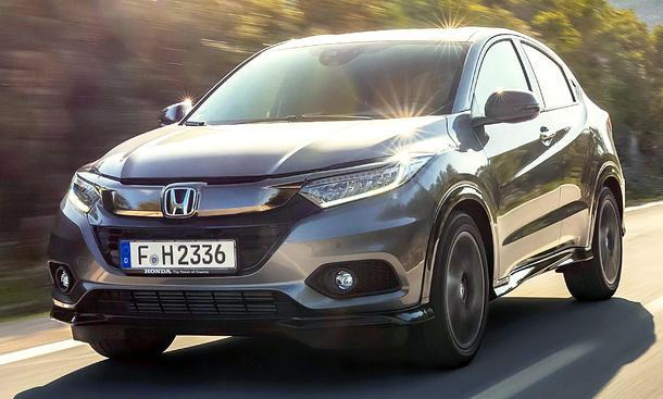 Honda HR-V Facelift (2019)