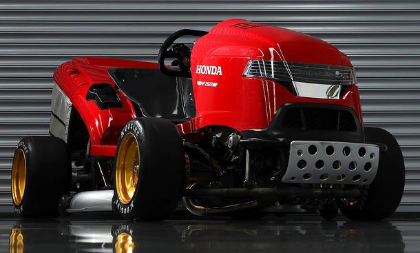 Honda Mean Mower MK2: Rasenmäher-Rekord
