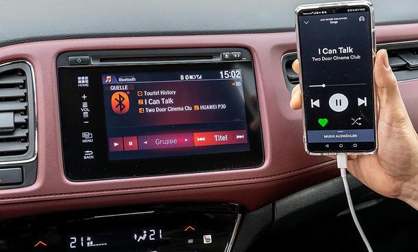 Honda HR-V 1.5 VTEC Turbo: Connecitivity