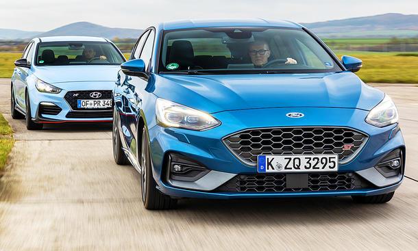 Hyundai i30 N Performance/Ford Focus ST