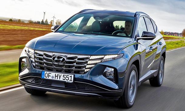 Hyundai gibt mit dem Tucson weiter Gas
