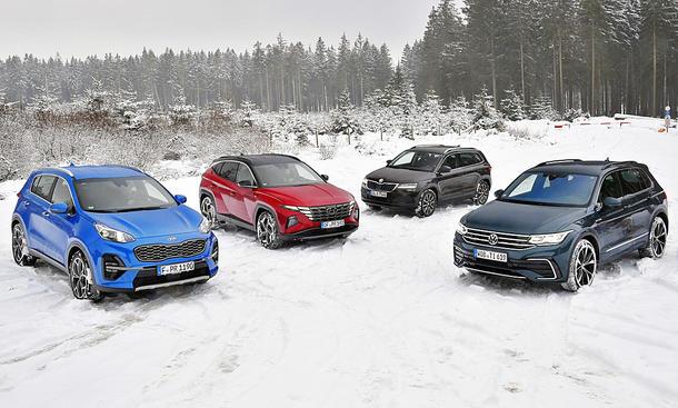 Kia Sportage/Hyundai Tucson/Skoda Karoq/VW Tiguan
