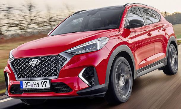 Hyundai Tucson Facelift N Line
