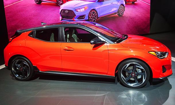 Detroit Auto Show 2018: Hyundai Veloster