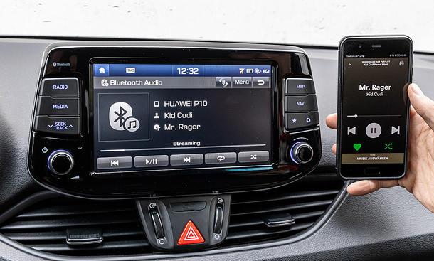 Hyundai i30 N Performance: Connectivity
