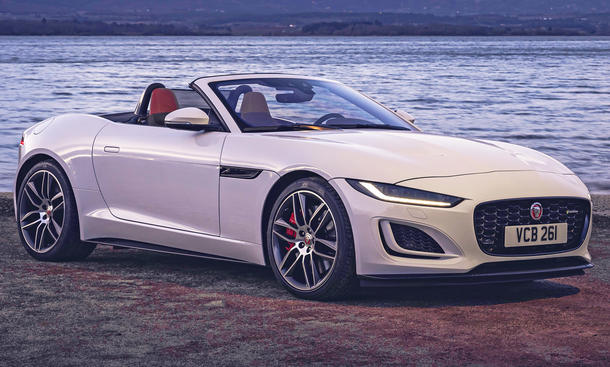 Jaguar F-Type Cabrio Facelift (2020)