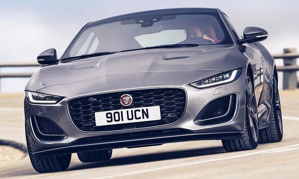 Jaguar F-Type Facelift (2020)