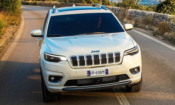 Jeep Cherokee Facelift (2019)