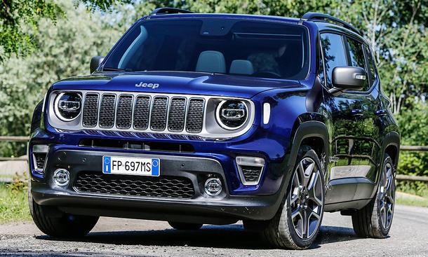 jeep renegade facelift (2018): motor & ausstattung | autozeitung.de