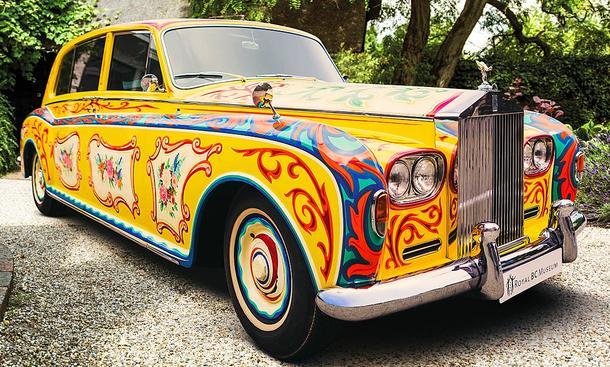 Weltstars fuhren Rolls und Bentley