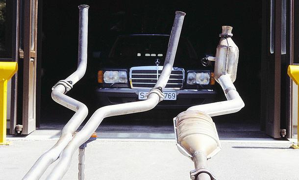 Katalysator Auto: Diebstahl