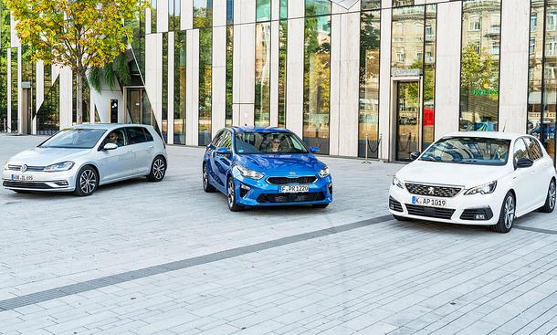 Kia Ceed/Peugeot 308/VW Golf