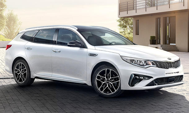 Kia Optima Sportswagon Facelift (2018)