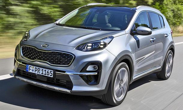 Kia Sportage Facelift (2020)