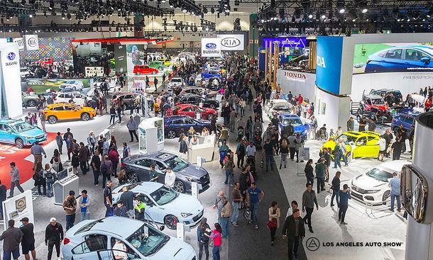 LA Auto Show 2021: Termin & Aussteller