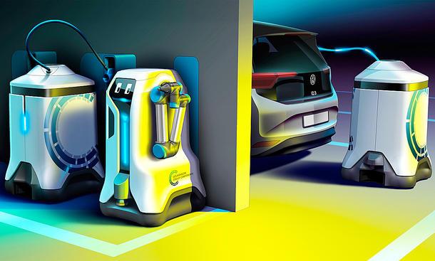 Autonome Laderoboter von VW