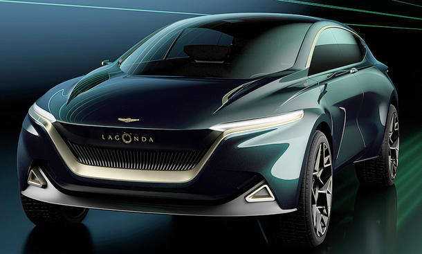 Lagonda All-Terrain Concept (2022)