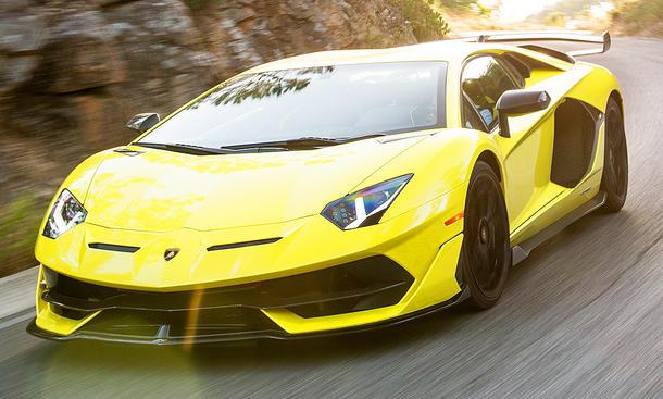 Neuer Lamborghini Aventador SVJ (2018)