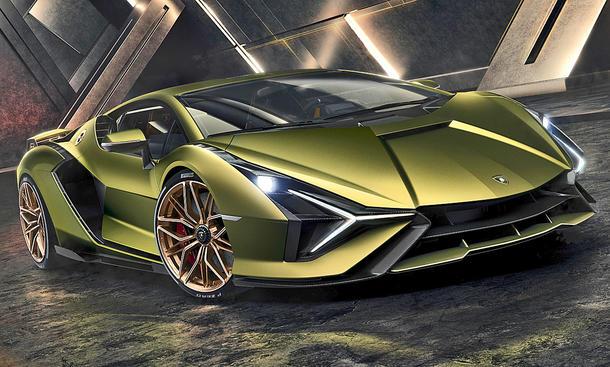 Lamborghini Sián (2019)