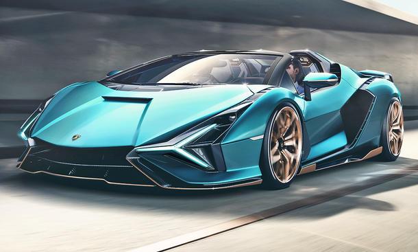 Lamborghini Sián Roadster (2020)