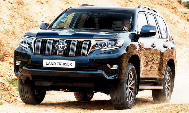 Toyota Land Cruiser Facelift (2018)