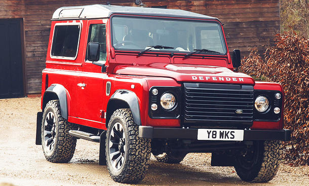 Land Rover Defender Works V8 (2018)