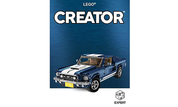 Ford Mustang GT: Lego-Bausatz
