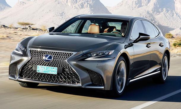 Neuer Lexus LS 500h (2017)