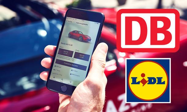 Mietstationen auf Supermarkt-Parkplätzen: Carsharing-Angebot von Mazda