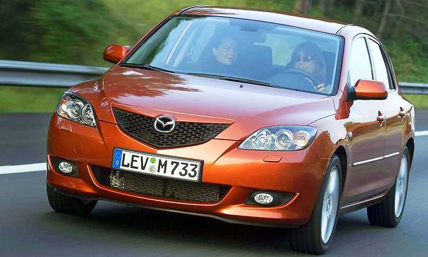 Mazda3 (2003) Typ BK