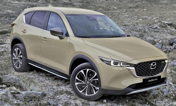 Mazda CX-5 Facelift (2022)