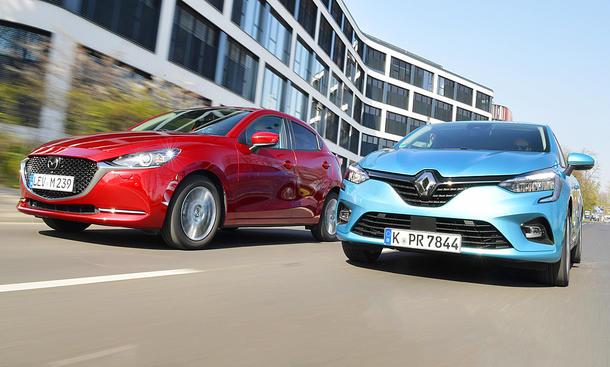 Mazda2/Renault Clio