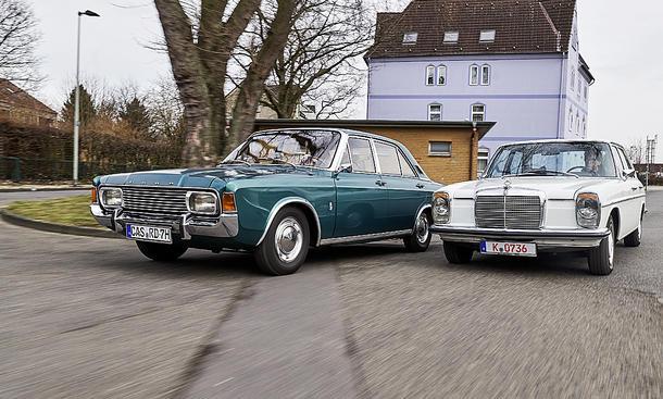 Ford 20M (P7b)/ Mercedes 230.6 (W114)