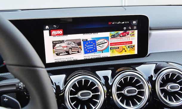 Mercedes A-Klasse: Connectivity