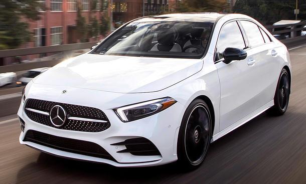 Neue Mercedes A Klasse Limousine 2018 Erste Testfahrt
