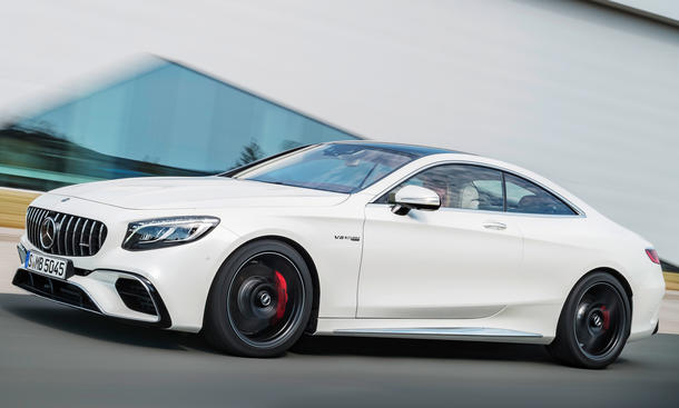 Mercedes-AMG S 63 Coupé Facelift (2017)