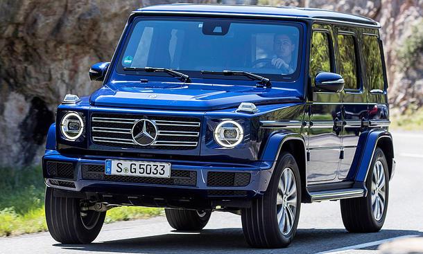 mercedes g 500 (2018): test | autozeitung.de