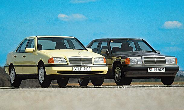 Mercedes C200/Mercedes 190 E 2.0