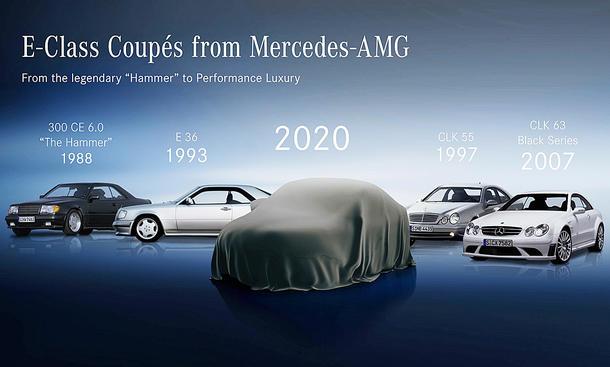 Mercedes E-Klasse Coupé Facelift (2020)