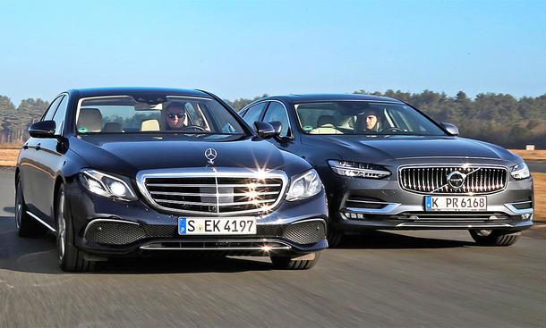 Mercedes E-Klasse/Volvo S90: Gebrauchtwagen kaufen