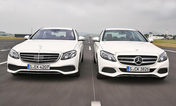 Mercedes E 200/Mercedes C 300: Gebrauchtwagen kaufen