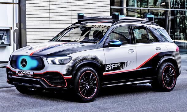 Mercedes ESF 2019: Sicherheit