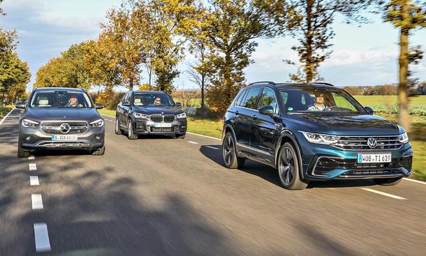 Mercedes GLA 200 d 4Matic/BMW X1 xDrive18d/VW Tiguan 2.0 TDI SCR 4Motion