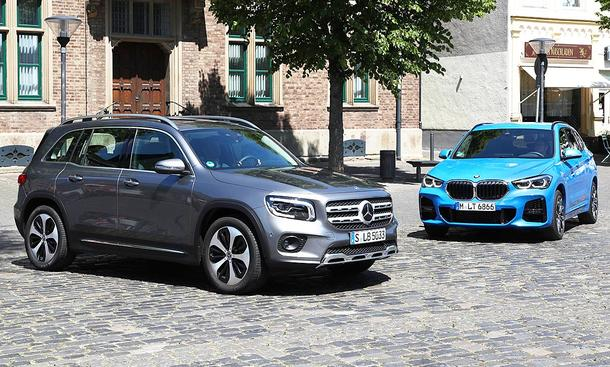 Mercedes GLB/BMW X1
