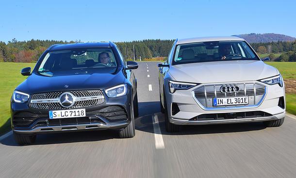 Mercedes GLC/Audi e-tron