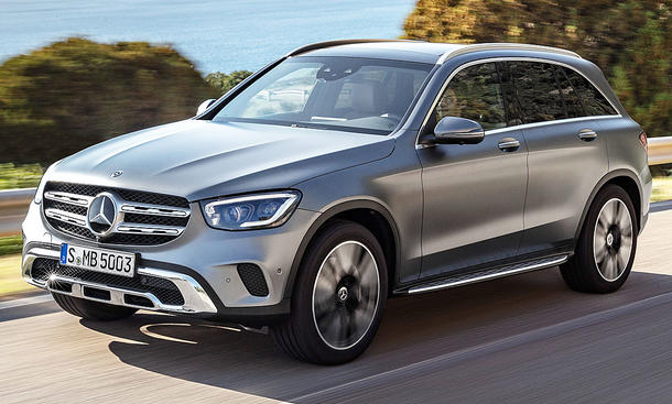 Mercedes GLC Facelift (2019)