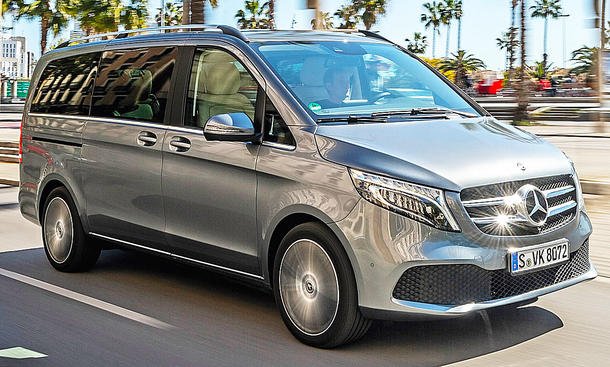 Mercedes V 300 d (Langversion): Test