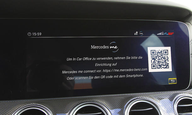 Mercedes E-Klasse T-Modell: Connectivty