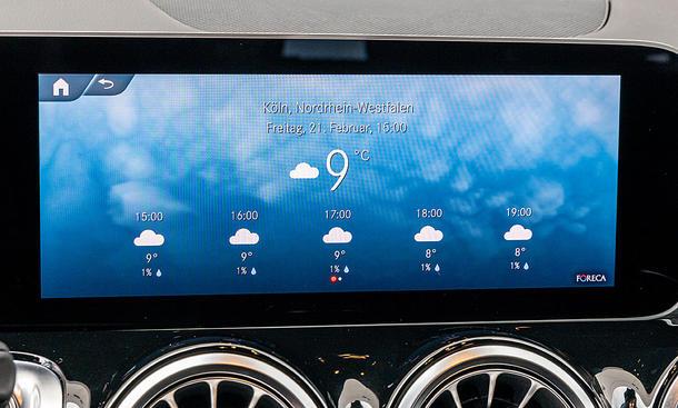 Mercedes GLB: Connectivity