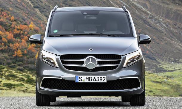 Mercedes V-Klasse Facelift (2019)